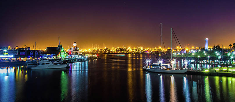 Long Beach Marina by April Reppucci