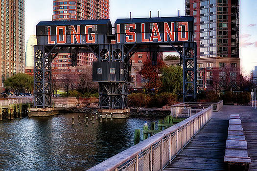Long Island Crane by Jerry Fornarotto