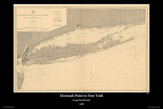 Long Island Sound 1899 by Adelaide Images