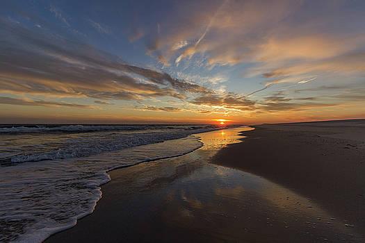 Long Island Sunset by Roderick Breem