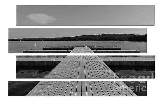 Long Lake Dock by Sandra Day