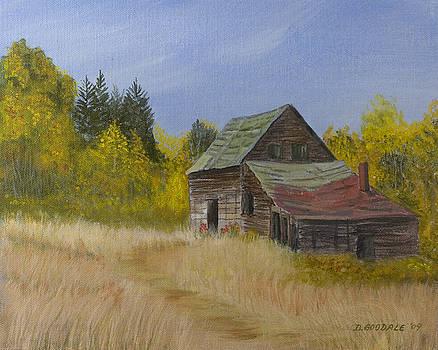 Long Lake Shack by Doug Goodale