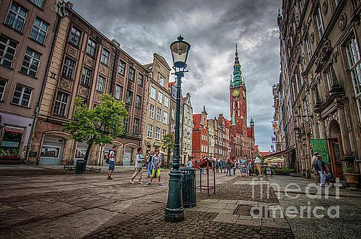 Mariusz Talarek - Long Market Street in Gdansk, Poland