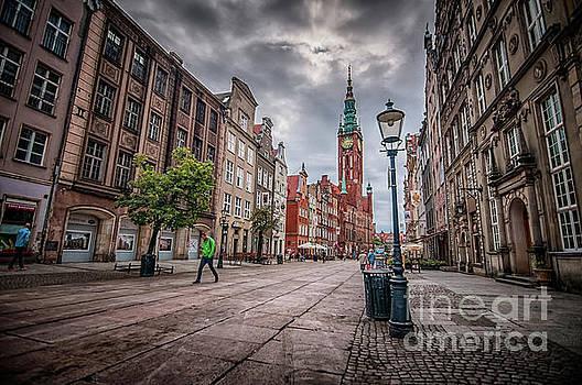 Mariusz Talarek - Long Market Street, Old Town Gdansk, Poland