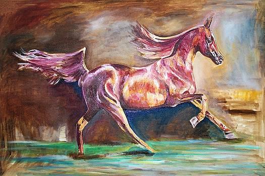 Long Step. by Khalid Saeed