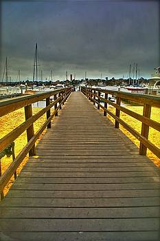 Long Walk  Short Pier by Van Schipper