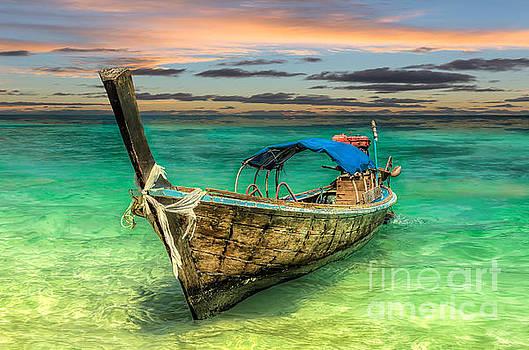 Adrian Evans - Longboat Sunset