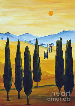 Longing for Tuscany by Christine Huwer