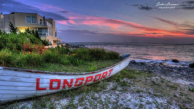 Longport at Sundown by John Loreaux