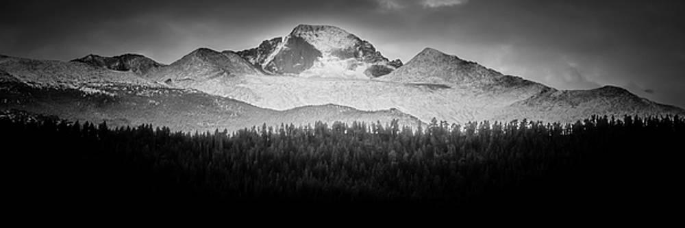 Alan Stenback Photography - Longs Peak BW