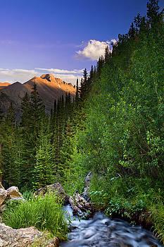 Longs Peak Sunset by Jeff Jewkes