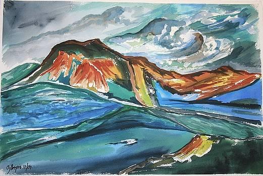 Longs Peak by Ted Gillespie