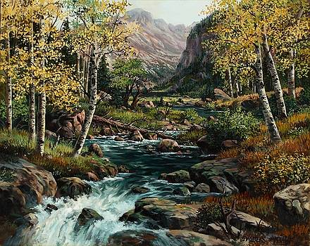 Long's Peak by W  Scott Fenton