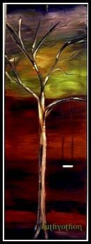 Lonliness in a tree by Kathy Othon