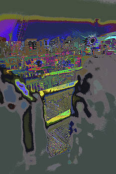 look into the underworld o Lil Tokyo by Kenneth James