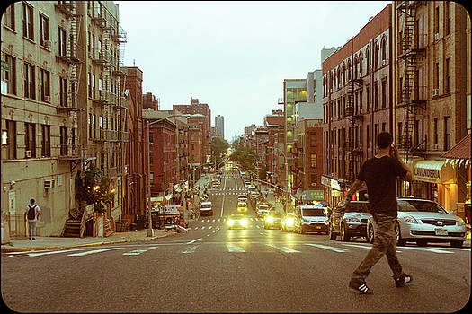 Looking Back on Lexington Ave. by Cameron Dixon