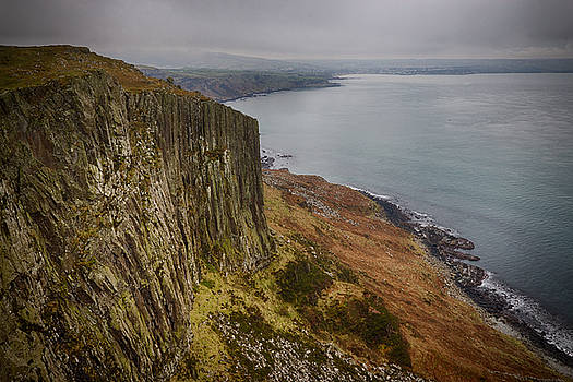 Looking back to Ballycastle by Alex Leonard
