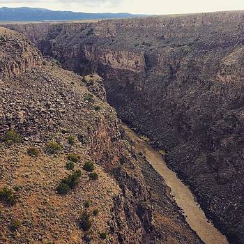 Looking Into The Gorge #newmexicotrue by Paula Manning-Lewis