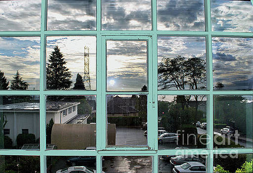 Looking out the window by Bill Thomson