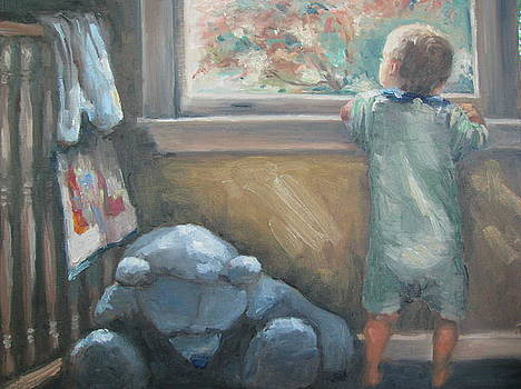 Looking Out the Window by Sharon Franke