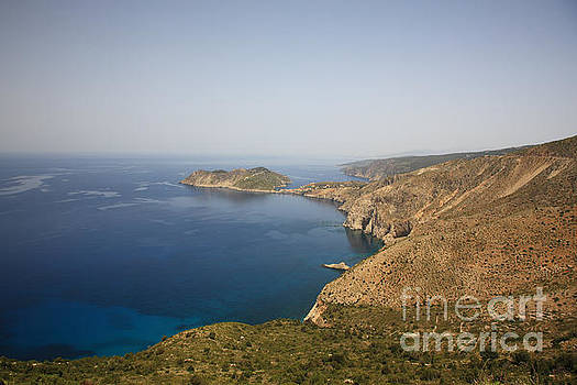 Looking over to Assos by Deborah Benbrook