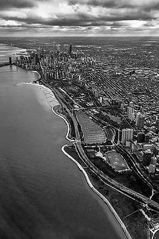 Looking South Toward Chicago from the friendly skies by Sven Brogren