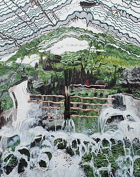 Looking Through a Waterfall by Steven Fleit