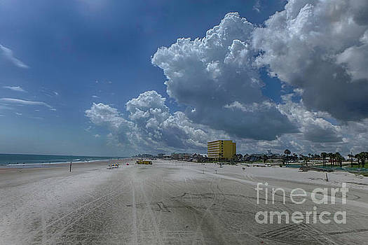 Looking Toward Daytona Beach Shores by Judy Hall-Folde