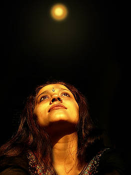 Looking Towards Spritual Light by Karuna Ahluwalia