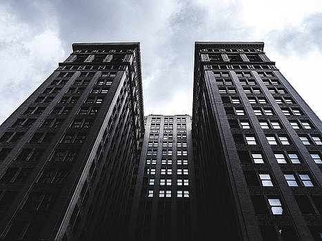 Looking up at building in St. Louis by Dylan Murphy