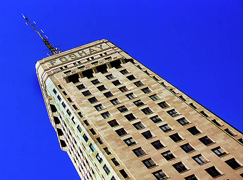 Looking Up at the Foshay Tower by Lonnie Paulson