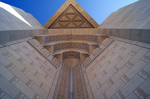 Looking Up at the Mosque by Debi Demetrion