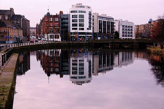 Looking Up the Water by Nik Watt
