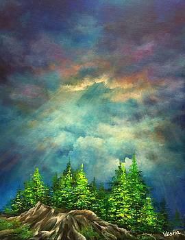 Looking Up by Vesna Delevska