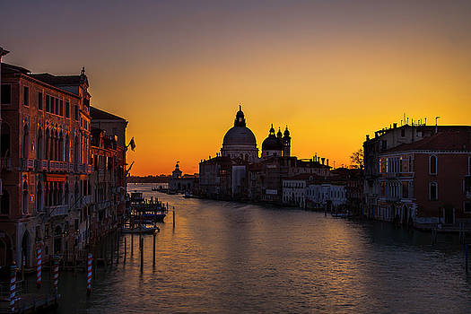 Looming Sunrise over the Grand Canal by Andrew Soundarajan
