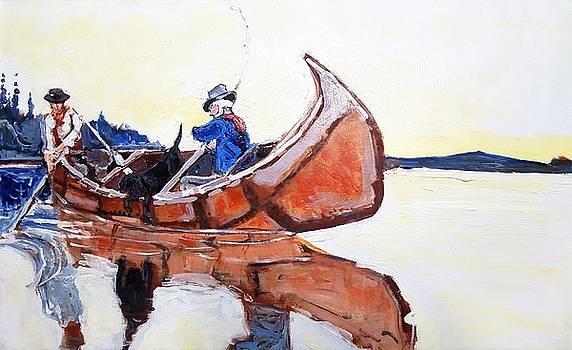 Loon Lake by Kurt Hausmann