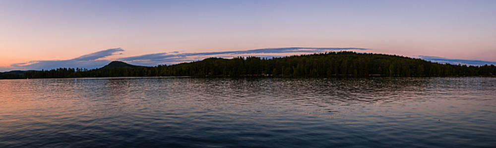 Loon Lake Panorama by Connor Koehler