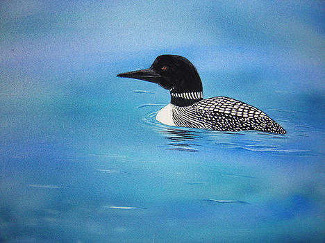 Loon by Teresa Boston