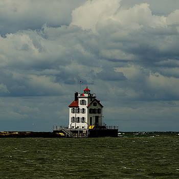 Lorain Lighthouse 2 by J Austin