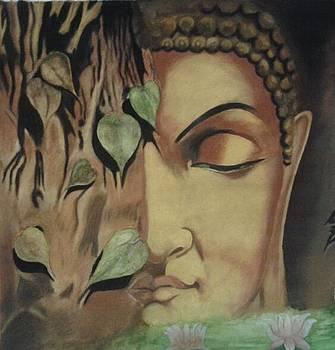 Lord Buddha by Rajendra Parekh