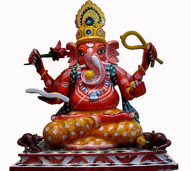Lord Ganesh by Ghanshyam