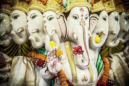 Lord Ganesha Statue by Azad Pirayandeh