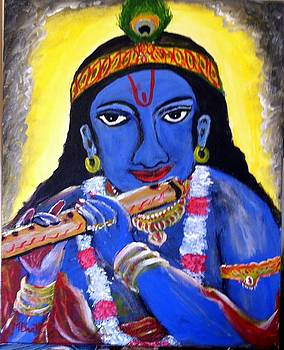 Lord Krishna by M Bhatt