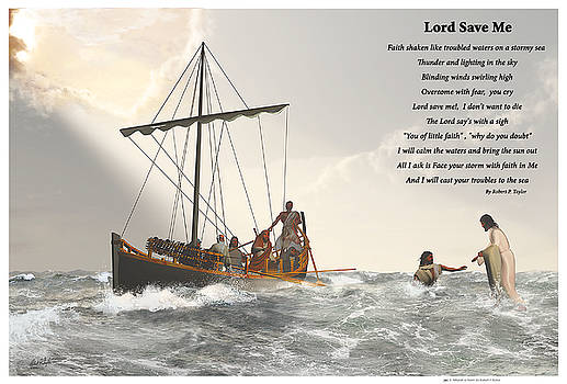 Lord Save Me by Robert Taylor