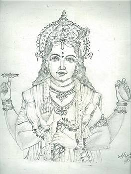 Lord Vishnu by Archit Singh