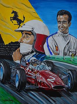 Lorenzo e Ferrari. La passione del tifosi by Juan Mendez