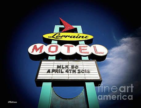 Lorraine Motel Memphis by Veronica Batterson