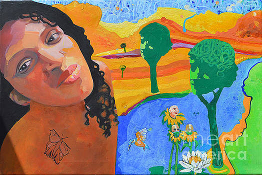 Landscape of longing. by Richard Heley