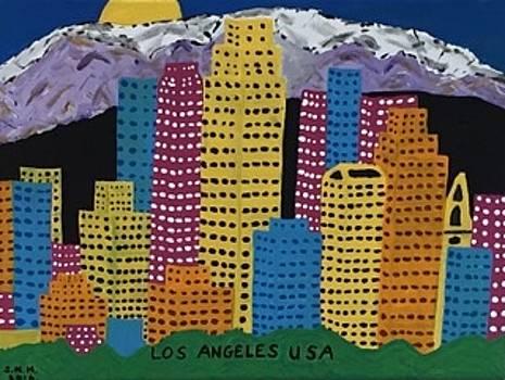 Los Angeles California USA by Jonathon Hansen