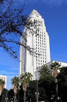 Los Angeles City Hall by Caroline Lomeli